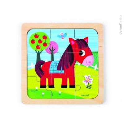 Puzzle  pre najmenších Koník