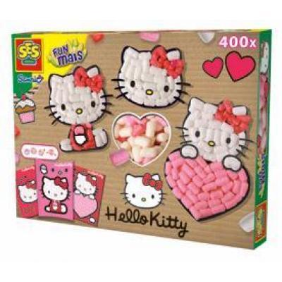Hello Kitty - Modelovacia hmota z kukurice