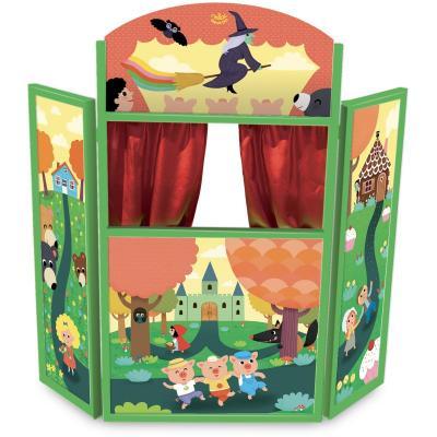 Detské drevené divadlo