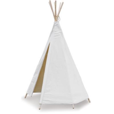 Detské indiánske Teepee biele