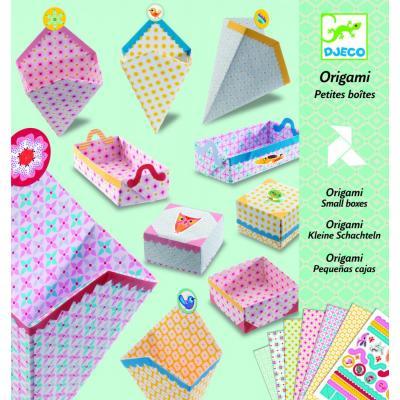 Krabičky - tvorivá sada Origami