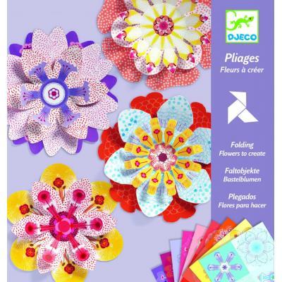 Kvety z papiera – tvorivá sada