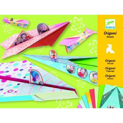 Lietadlá - tvorivá sada Origami pre dievčatá