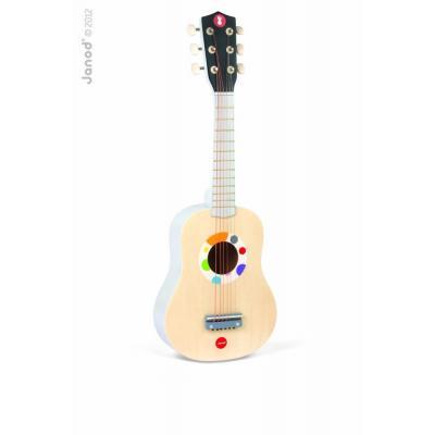 Drevená gitara pre deti Confetti