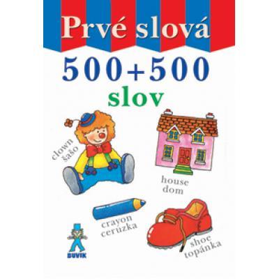 Prvé slová 500 + 500 slov