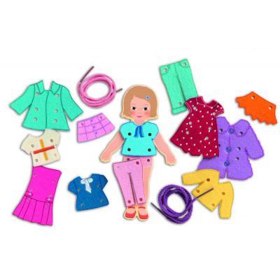 Drevená bábika - prevliekanie