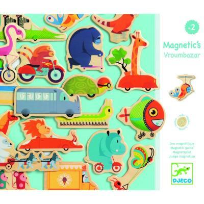 Drevené magnetky Dopravné prostriedky
