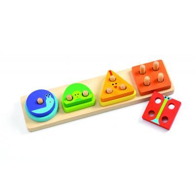 Edukatívna hračka Geometrické tvary