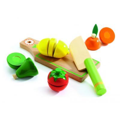 Ovocie a zelenina  z dreva