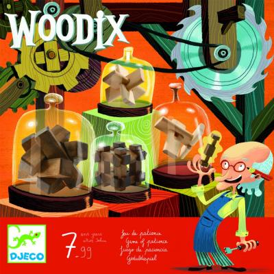 Drevený hlavolam Woodix