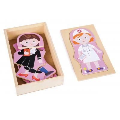 Dievčenské puzzle - Povolania