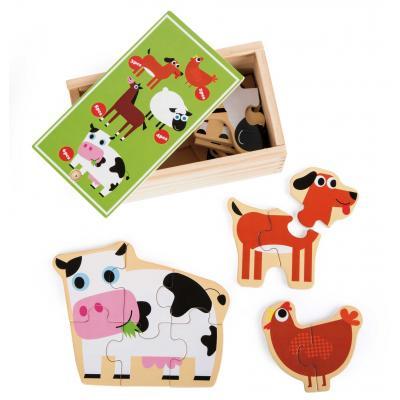 Domáce zvieratká Puzzle box