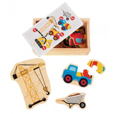 Stavbárske stroje Puzzle box