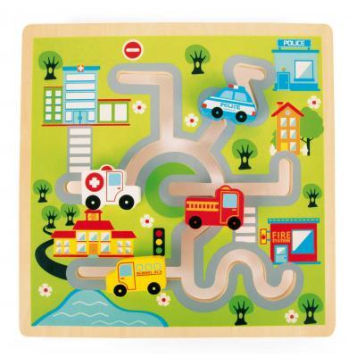 Motorický labyrint Autá