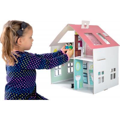 Domček pre bábiky s nálepkami