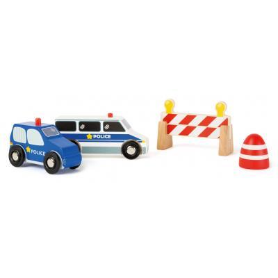 Policajné autíčka set