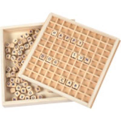 Drevená hra Skladanie slov