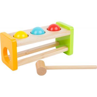 Zatĺkačka s farebnými guľami