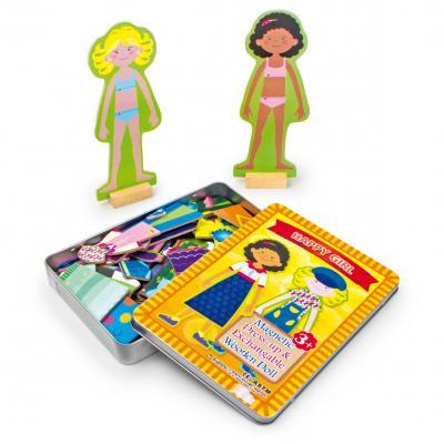 Magnetická hra Obleč svoju bábiku