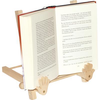 Drevený držiak na knihu