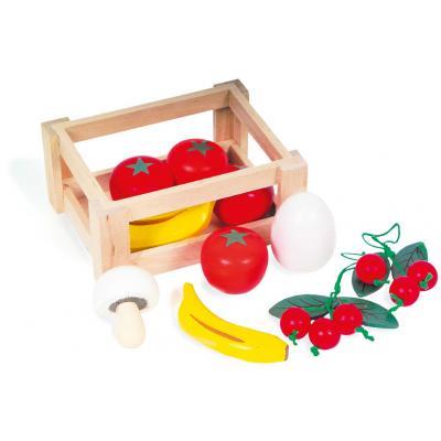Prepravka s ovocím a zeleninou