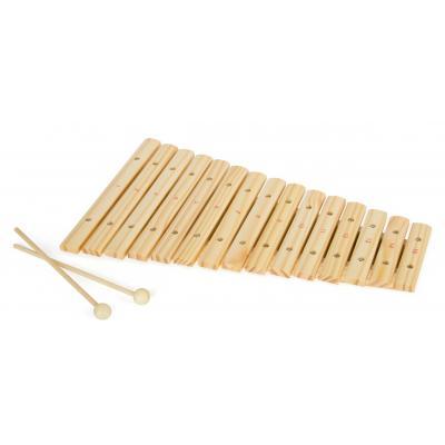 Drevený xylofón 15 tónov