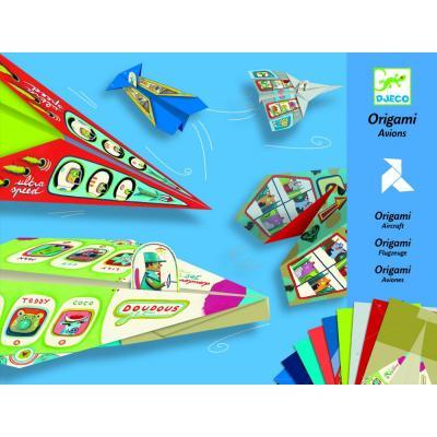 Lietadlá - tvorivá sada Origami